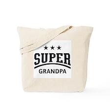 Super Grandpa (Black) Tote Bag