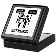 Just Married – Mission Accomplished – Keepsake Box