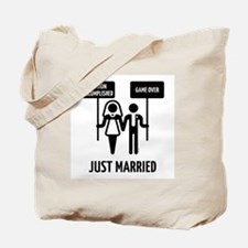 Just Married – Mission Accomplished – Gam Tote Bag