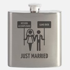 Just Married – Mission Accomplished – Game O Flask