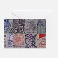 Collage: Camino de Santiago (the Way Greeting Card