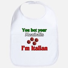 You Bet Your Meatballs Bib