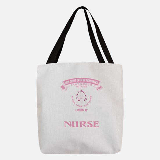 Super Cool Nurse Polyester Tote Bag