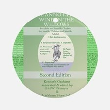 Annotated Wind In the Willows Ornament (Round)
