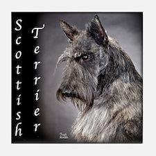"Scottish Terrier ""Scottie"" Tile Coaster"