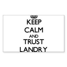 Keep calm and Trust Landry Decal