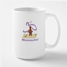 Namaste Fox Yoga Handstand Mugs