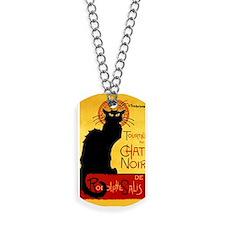 Vintage Tournée du Chat Noir, Theophile C Dog Tags
