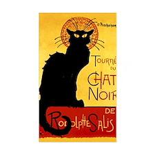 Vintage Tournée du Chat Noir,  Decal