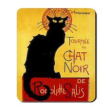 Vintage Tournée du Chat Noir, Theophile  Mousepad