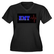 EMT Heart Beat Plus Size T-Shirt