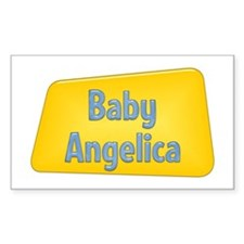 Baby Angelica Rectangle Decal