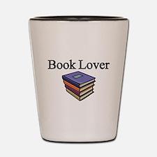 Book Lover Shot Glass