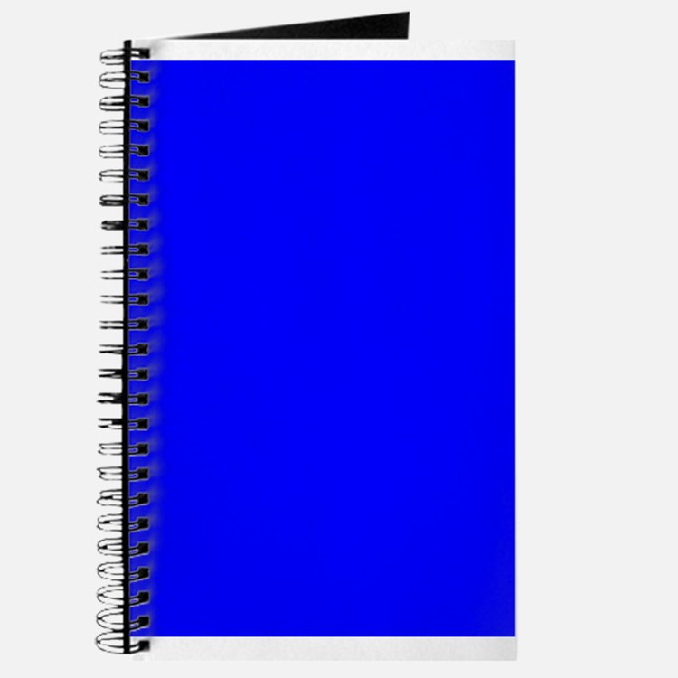 Solid Blue Journal