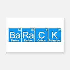 BaRaCK Rectangle Car Magnet