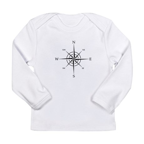 Compass Rose Long Sleeve T-Shirt
