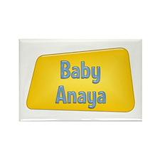Baby Anaya Rectangle Magnet