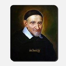 Saint Vincent de Paul Mousepad