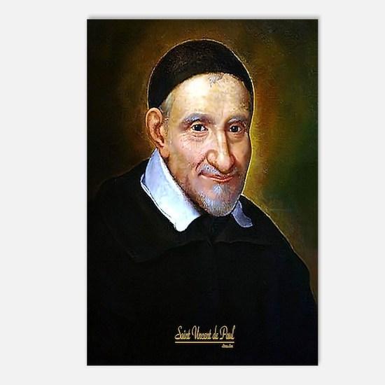 Saint Vincent de Paul Postcards (Package of 8)