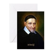 Saint Vincent de Paul Greeting Cards (Pk of 20)