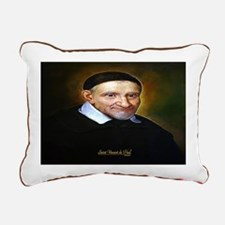 Saint Vincent de Paul Rectangular Canvas Pillow