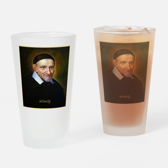 Saint Vincent de Paul Drinking Glass