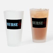 Nurse Heart Beat Drinking Glass