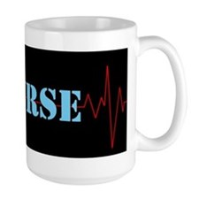 Nurse Heart Beat Mugs