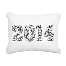 2014 In Skulls Rectangular Canvas Pillow