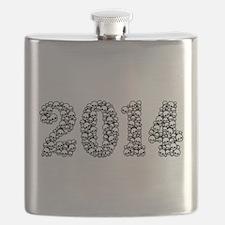 2014 In Skulls Flask