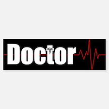 Doctor Heart Beat Bumper Bumper Sticker