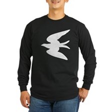 Seagull Silhouette Long Sleeve T-Shirt