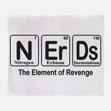 NErDs Throw Blanket