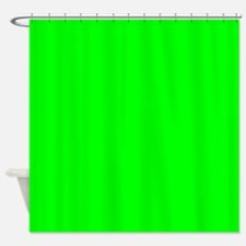 Solid Neon Shower Curtain