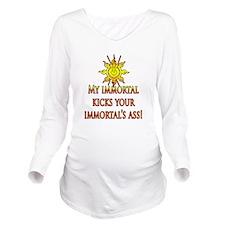 Immortal Long Sleeve Maternity T-Shirt