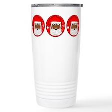 Happy Santa Travel Mug