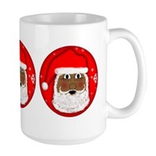 Happy Santa Mugs