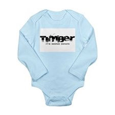 Timber - It's Going Down Long Sleeve Infant Bodysu