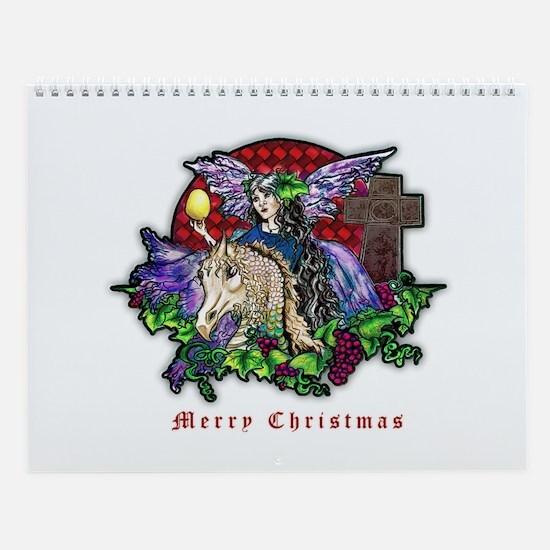 Christmas Fantasy Art Wall Calendar