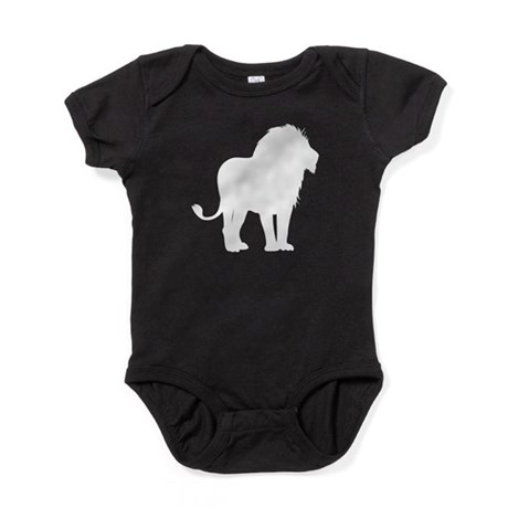 Lion Silhouette Baby Bodysuit