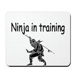 Ninja in training Mousepad