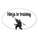 Ninja in training Sticker