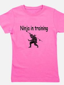 Ninja in training Girl's Tee