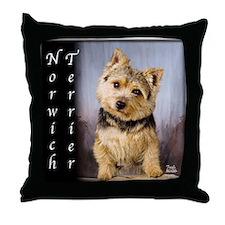 Norwich Terrier Throw Pillow
