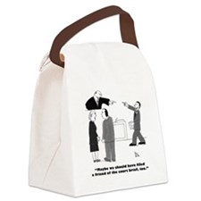 friend of court Canvas Lunch Bag