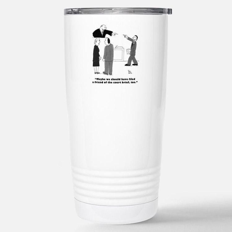 friend of court Travel Mug
