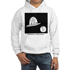 fly-over planet Hoodie