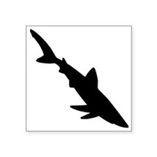 Shark Silhouette Sticker