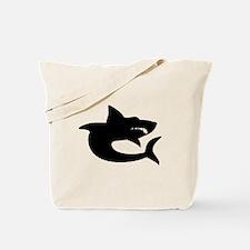 Shark Silhouette Tote Bag
