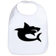 Shark Silhouette Bib